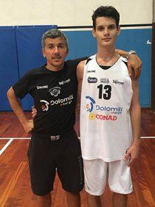 Coach Thomas Minati e Mattia Musumeci