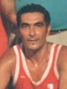 Una vecchia foto di Zuccalà con la maglia della squadra vizzinese