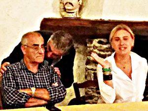 Santino Coppa e Deborah Bruni
