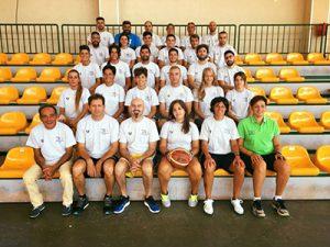 I partecipanti al corso minibasket di Randazzo (FIP Sicilia)