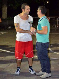 Cristian Cosentino, miglior marcatore del trofeo Aitna