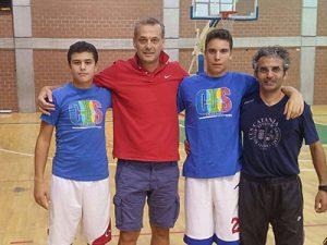 Giorgio, Guadalupi, Giuseppe Guadalupi, Ruggero Elia e Giovanni Giustino