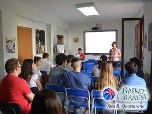 Il primo incontro del corso per ufficiali di campo (foto R. Quartarone)