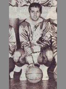 Rolando Rocchi nel 1963 (LazioWiki)