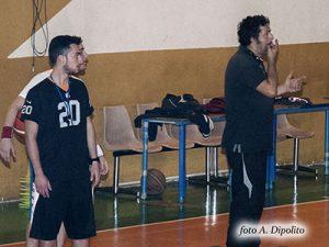 Una fase dell'allenamento di Gigi Angirello (foto A. Dipolito)
