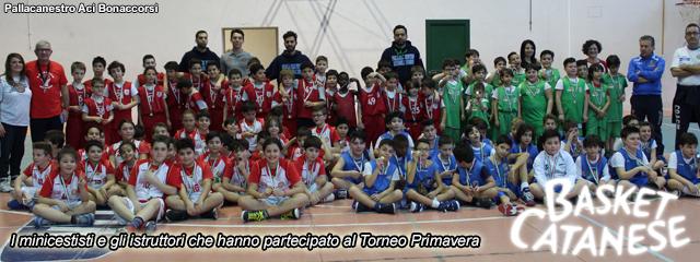 Basket Catanese. Torneo Primavera