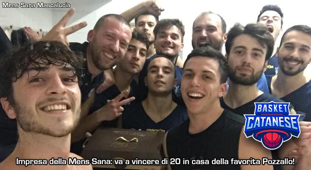Mens Sana, che impresa in casa di Pozzallo! - Basket Catanese